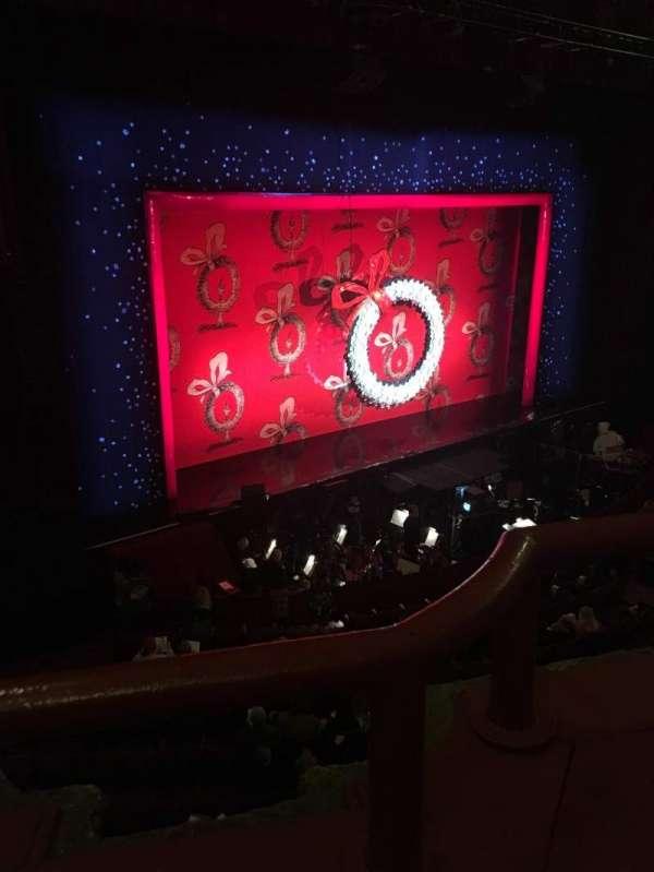 Chicago Theatre, vak: Loge2L, rij: AA, stoel: 213