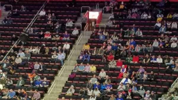 Little Caesars Arena, vak: 105, rij: 18, stoel: 16
