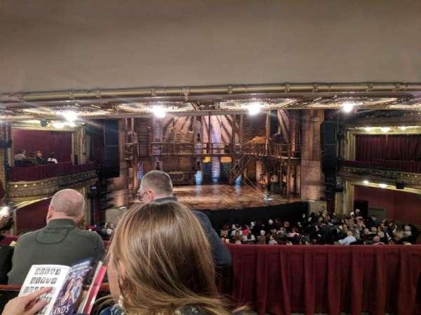 CIBC Theatre, vak: drcrlc, rij: c, stoel: 221