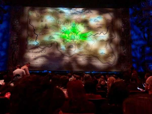 Hollywood Pantages Theatre, vak: Orchestra C, rij: J, stoel: 107