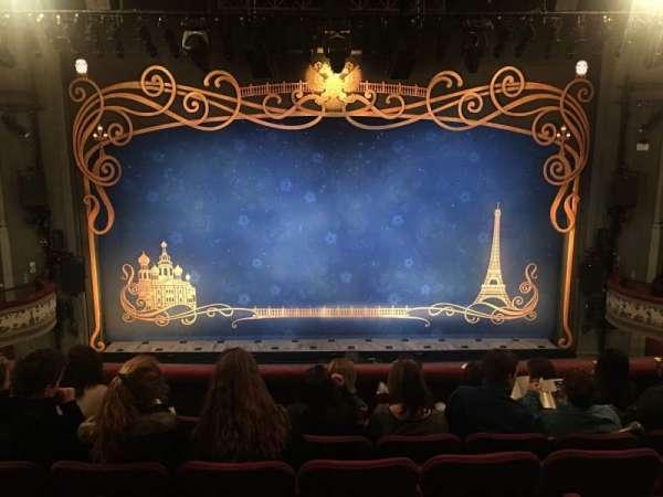 Broadhurst Theatre, vak: Mezzo, rij: F, stoel: 107