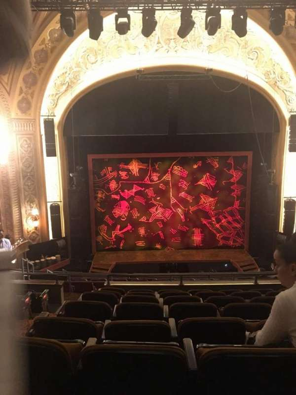 Paramount Theatre (Seattle), vak: M13, rij: F, stoel: 2