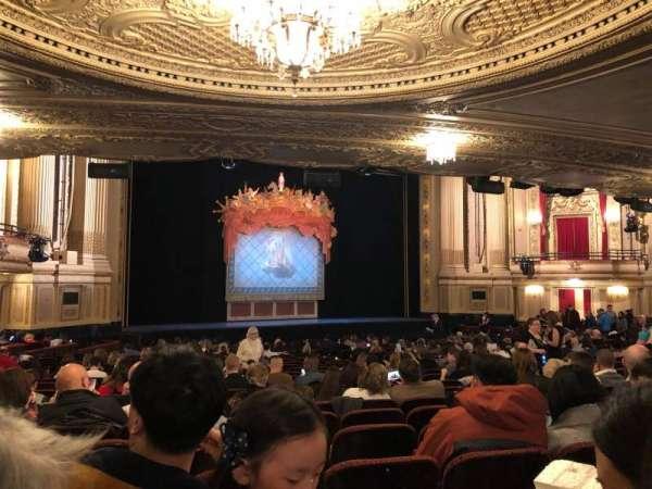 Boston Opera House, vak: Orch Lft, rij: U, stoel: 27