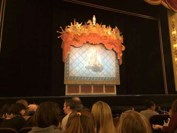 Boston Opera House, vak: Ochestra, rij: D, stoel: 4