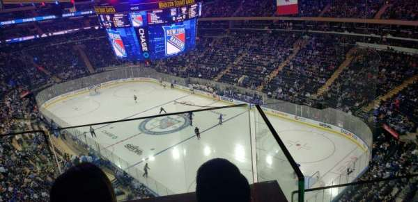 Madison Square Garden, vak: 301, rij: 2, stoel: 15