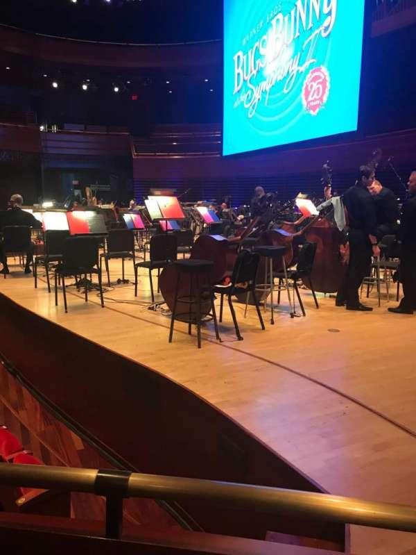 Verizon Hall at the Kimmel Center, vak: Orchestra, rij: Box 1, stoel: Seat 2