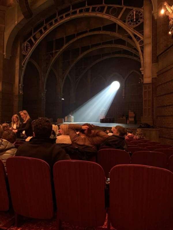 Lyric Theatre, vak: Orchestra, rij: K, stoel: 32