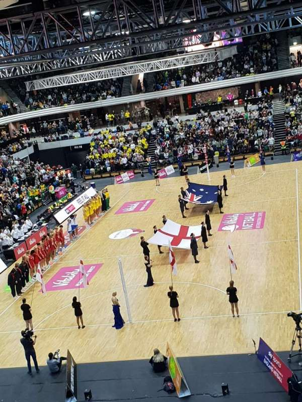 Copper Box Arena, vak: 207, rij: 17, stoel: 35
