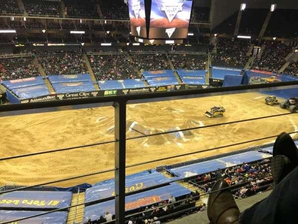 Sprint Center, vak: 226, rij: 1, stoel: 17