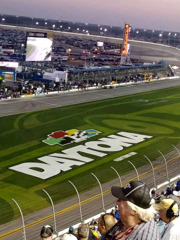 Daytona International Speedway, vak: 342, rij: 23, stoel: 7