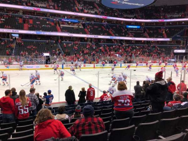 Capital One Arena, vak: 110, rij: L, stoel: 16