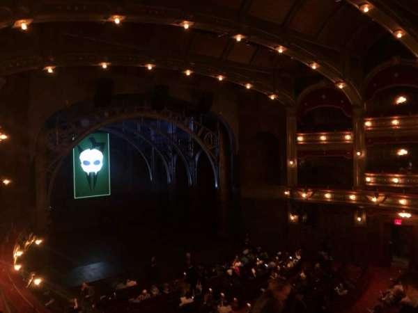 Lyric Theatre, vak: Dress Circle L, rij: E, stoel: 13