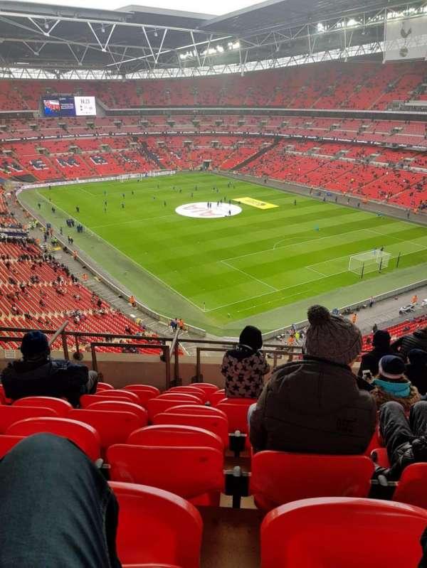 Wembley Stadium, vak: 544, rij: 10, stoel: 145