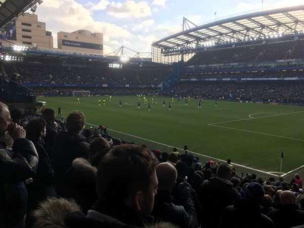 Stamford Bridge, vak: Matthew Harding Lower Block 16, rij: V, stoel: 195