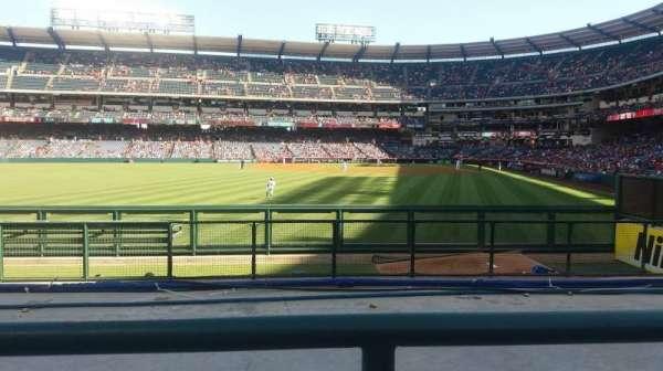Angel Stadium, vak: P259, rij: G, stoel: 6