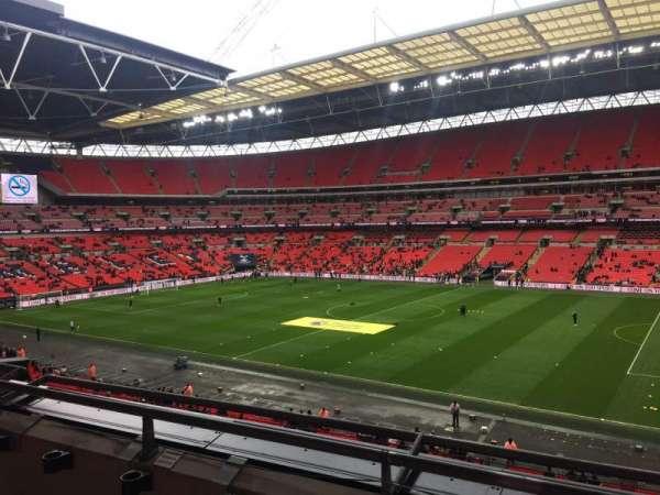 Wembley Stadium, vak: 223, rij: 3, stoel: 227