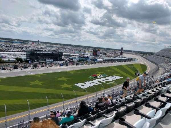 Daytona International Speedway, vak: 344, rij: 18, stoel: 18