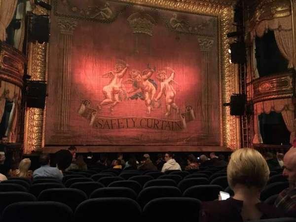 Theatre Royal Haymarket, vak: Stalls, rij: O, stoel: 15