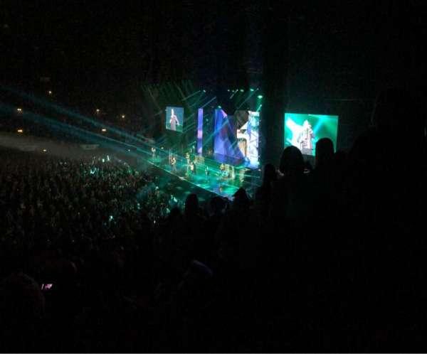 SSE Arena, Wembley, vak: N5, rij: P, stoel: 58