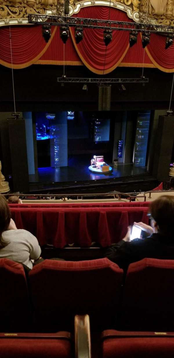 Nederlander Theatre (Chicago), vak: BALCLC, rij: G, stoel: 337-339