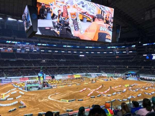AT&T Stadium, vak: C213, rij: 7, stoel: 8