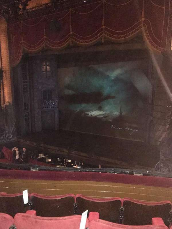 Palace Theatre (Manchester), vak: Circle, rij: D, stoel: 9