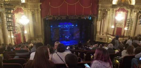 Boston Opera House, vak: MEZLFT, rij: O, stoel: 5