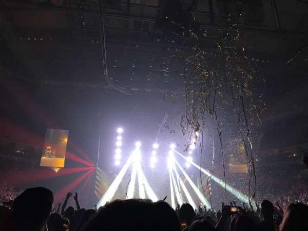 PPG Paints Arena, vak: 9, rij: EEE, stoel: 5