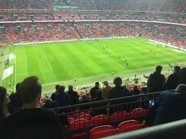 Wembley Stadium, vak: 504, rij: 10, stoel: 96