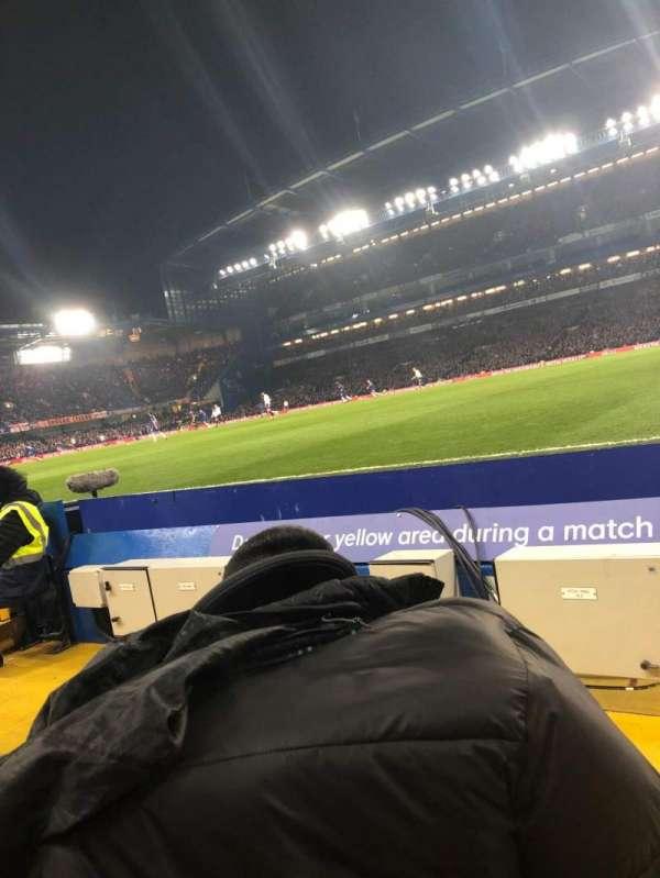 Stamford Bridge, vak: East Lower North, rij: D, stoel: 177