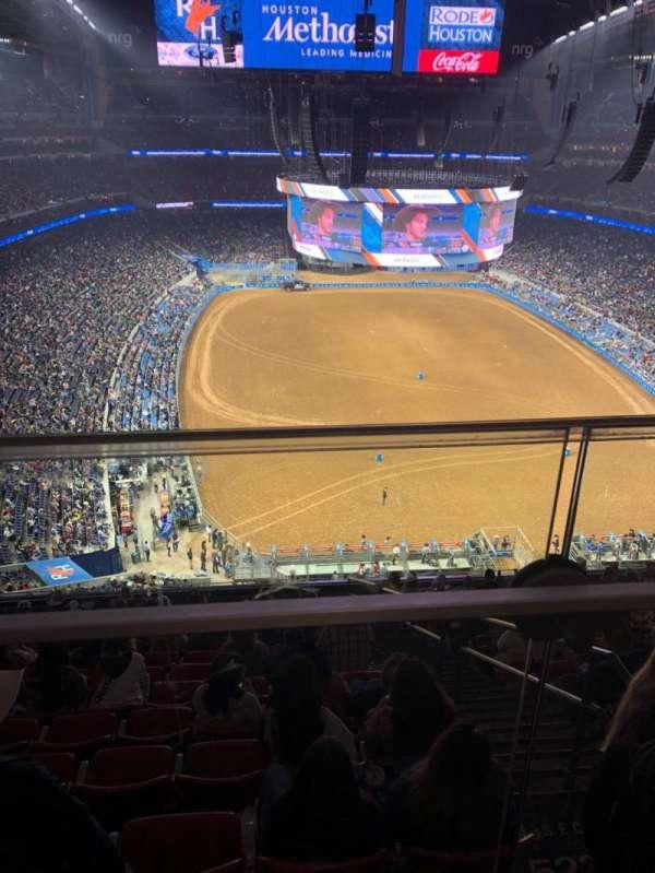 NRG Stadium, vak: 623, rij: A, stoel: 17