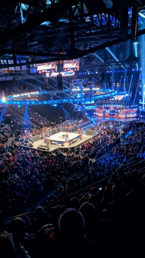 Mohegan Sun Arena at Casey Plaza, vak: 207, rij: G