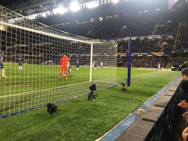 Stamford Bridge, vak: Shed Lower, rij: 1, stoel: 118