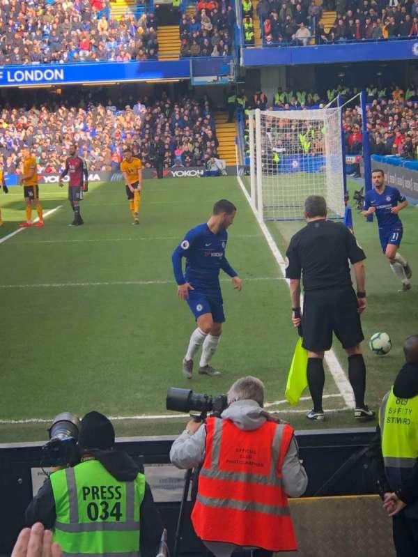 Stamford Bridge, vak: 1, rij: 10, stoel: 4