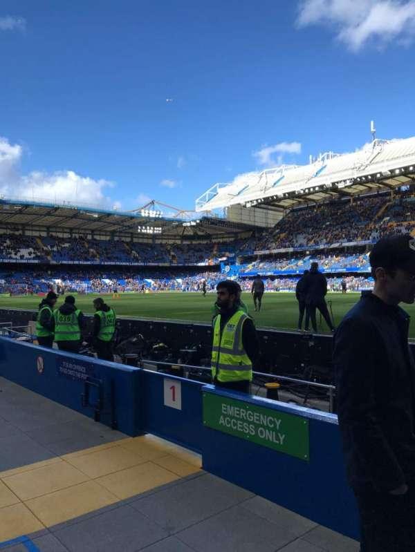 Stamford Bridge, vak: WL1, rij: 1, stoel: 146
