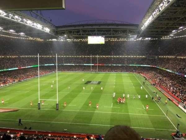 Principality Stadium, vak: UN1, rij: 24, stoel: 12