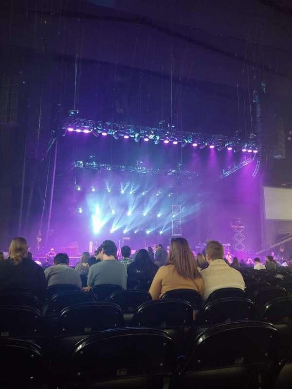 Royal Farms Arena, vak: 3, rij: BB, stoel: 12