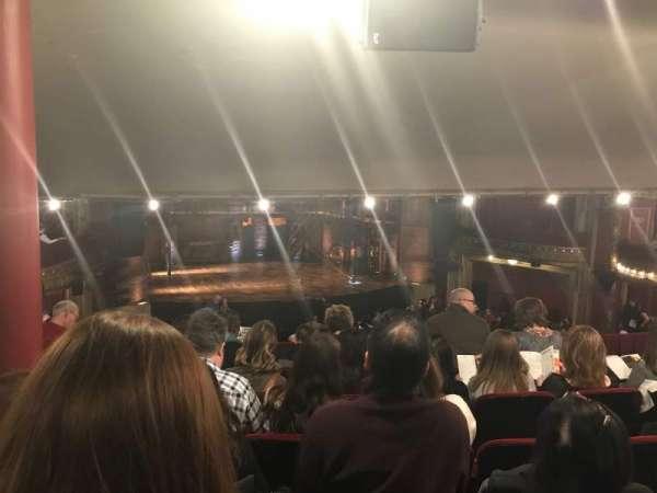 CIBC Theatre, vak: Dress circle left, rij: F, stoel: 237