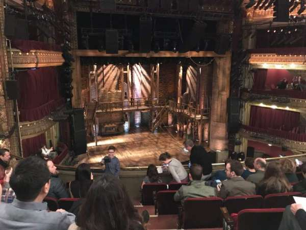 CIBC Theatre, vak: Mezzanine Left, rij: G, stoel: 3