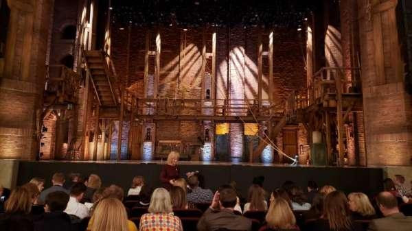 CIBC Theatre, vak: Orchestra Center, rij: K, stoel: 108