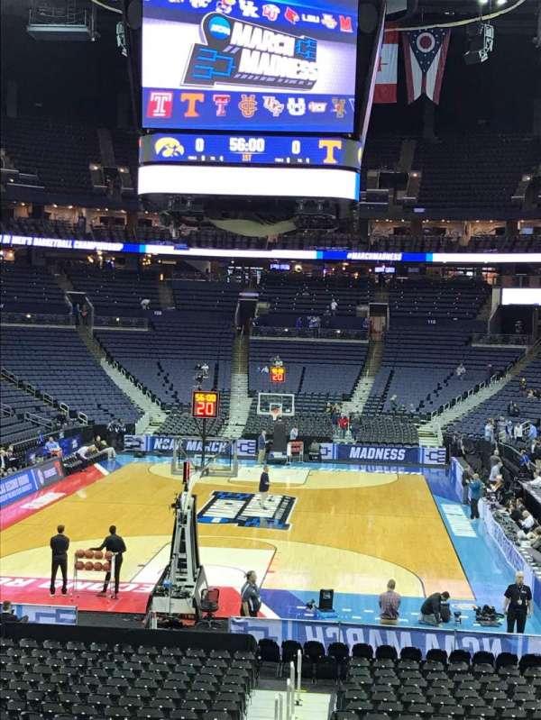 Nationwide Arena, vak: 120, rij: U, stoel: 1
