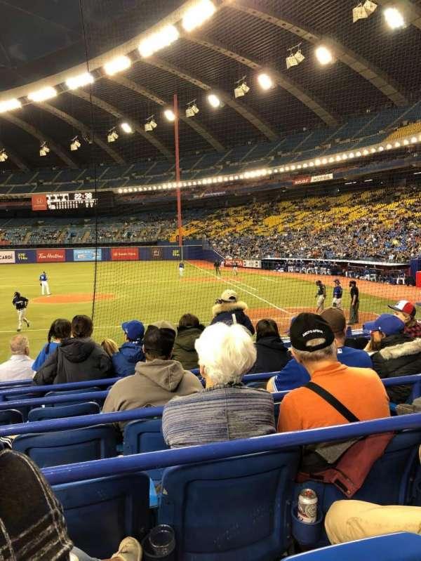 Olympic Stadium, Montreal, vak: 106, rij: MM, stoel: 11