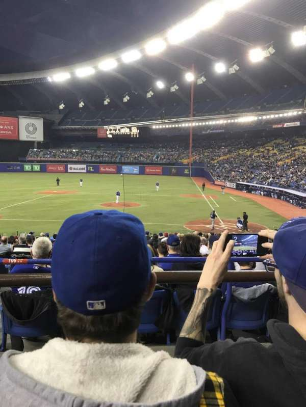 Olympic Stadium, Montreal, vak: 106, rij: B, stoel: 16