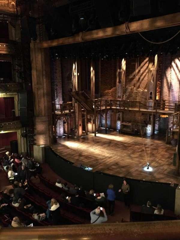 CIBC Theatre, vak: Mezzanine R, rij: A, stoel: 6