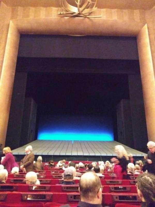 Metropolitan Opera House - Lincoln Center, vak: Orchestra, rij: N, stoel: 109
