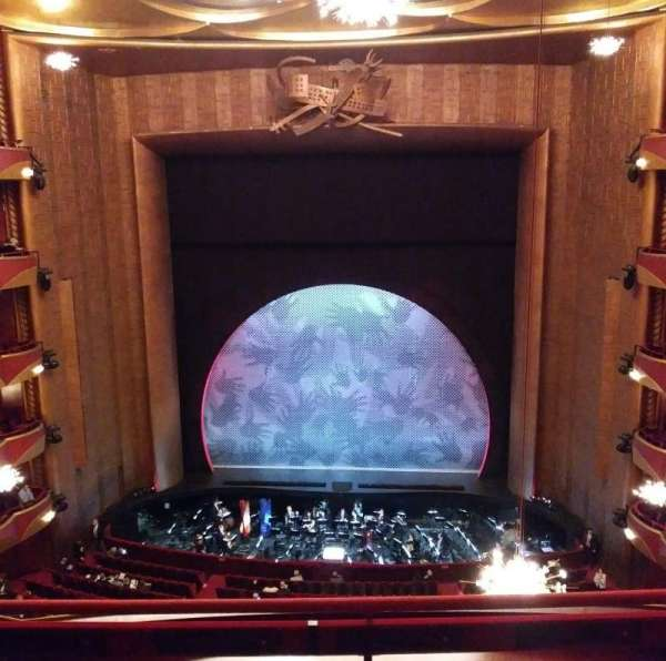 Metropolitan Opera House - Lincoln Center, vak: Balcony, rij: C, stoel: 108