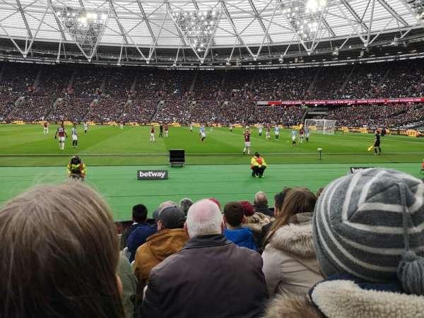 London Stadium, vak: 110, rij: 6, stoel: 263