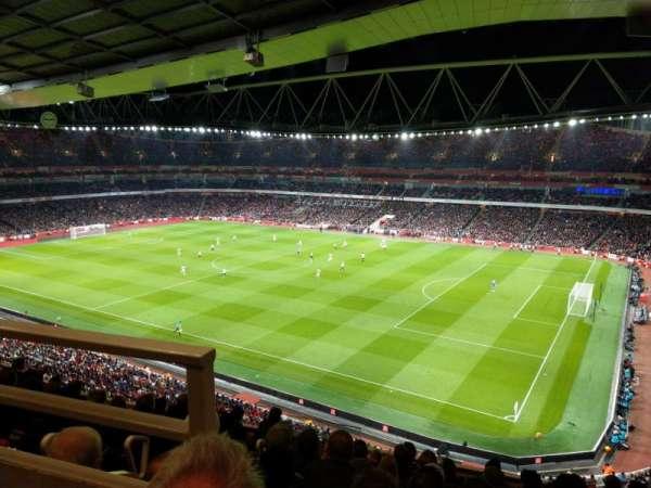 Emirates Stadium, vak: 109, rij: 9, stoel: 488