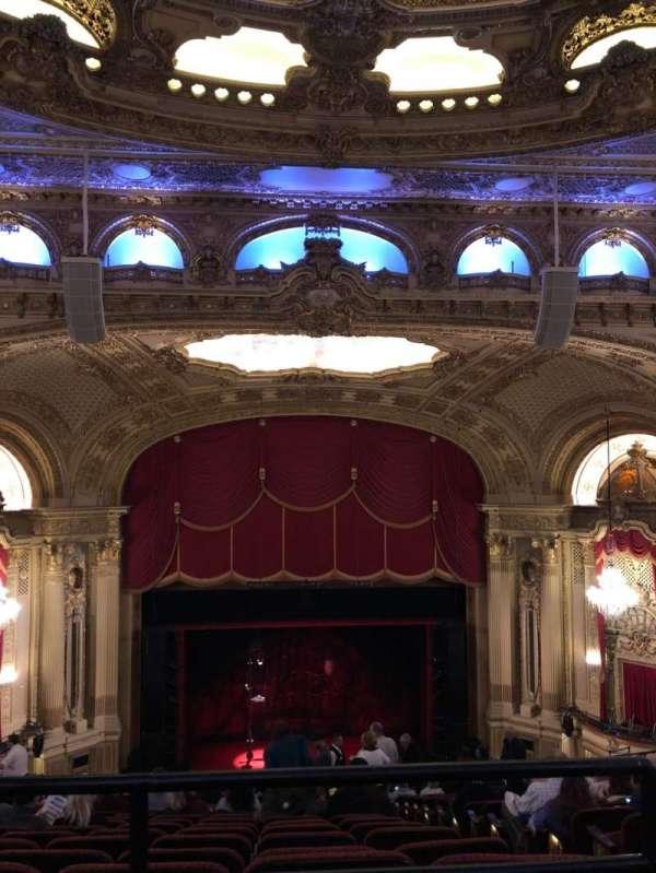 Boston Opera House, vak: Balcony Center, rij: P, stoel: 111