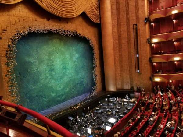 Metropolitan Opera House - Lincoln Center, vak: Grand tier, rij: Box 33, stoel: 1